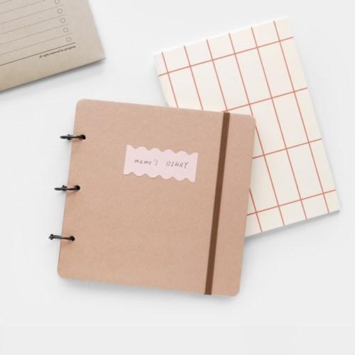 [텐바이텐 단독] Open book diary set