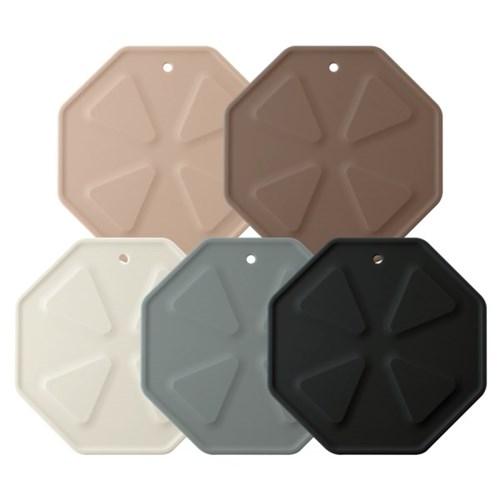 국산 플라이토 실리콘 디자인 냄비받침대 6종