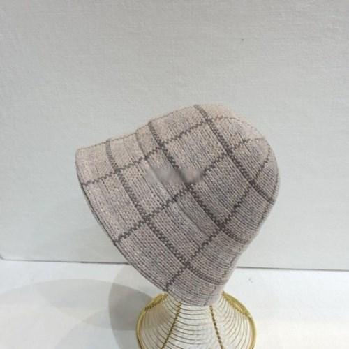 체크 무드 빈티지 패션 데일리 버킷햇 벙거지 모자