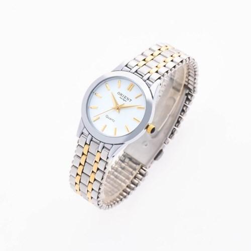 오리엔트 3기압 커플시계 여자 메탈손목시계 OT5005FA