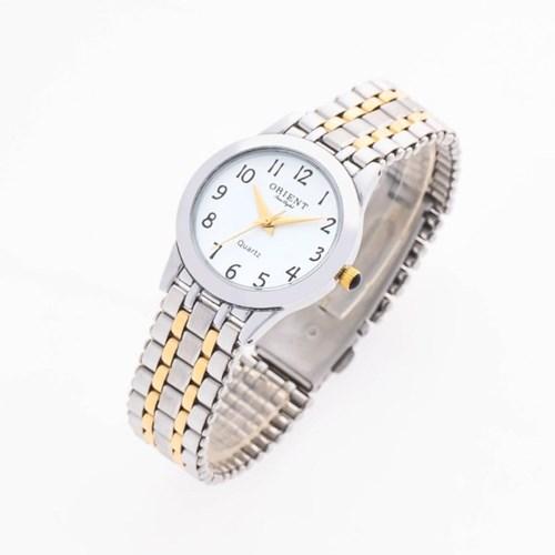 오리엔트 3기압 커플시계 여자 메탈손목시계 OT5005FB