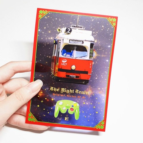 Merry Go Round - Clear Card (4type)