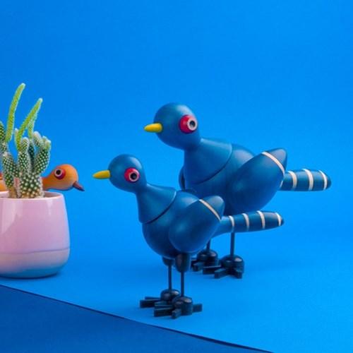 mufun 애니멀피규어 시리즈 - 사려깊은 푸른 꿩