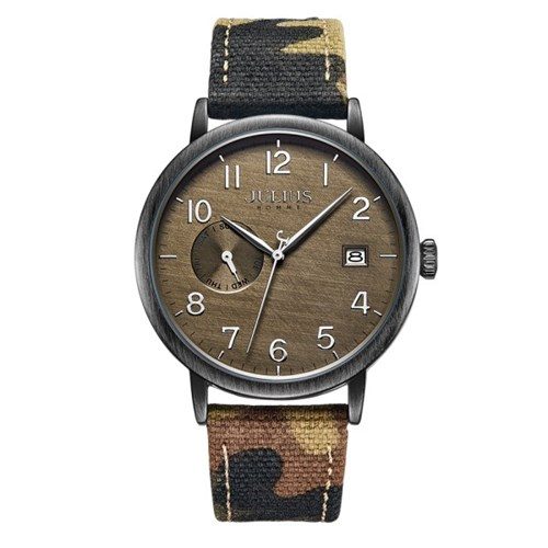 [쥴리어스 옴므] JAH-125 남성시계 손목시계 가죽밴드
