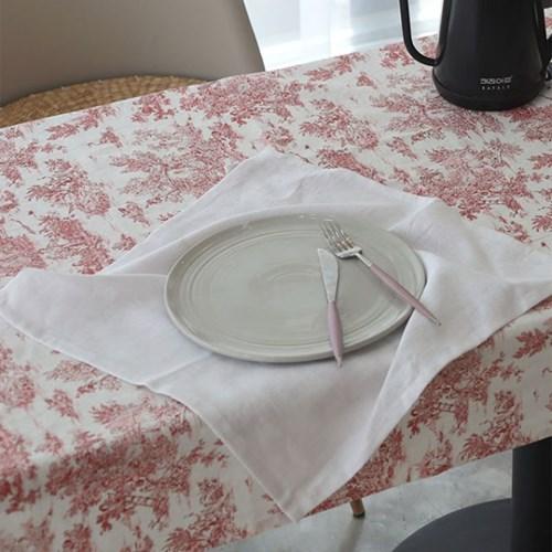 8수 린넨워싱 키친크로스 4컬러 식탁매트 테이블매트