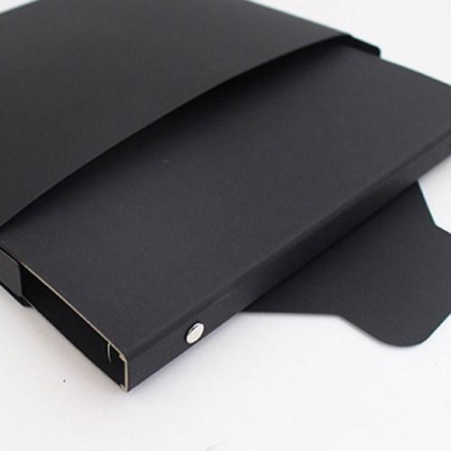 6공 바인더 a5 다이어리 노트 커버 블랙