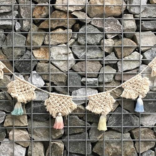 [반짝조명] 베이비 가랜드 마크라메 벽장식