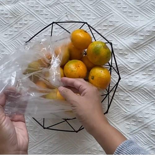 담아보울 2칼라세트 메탈 바구니 주방 다용도 과일 소품 바스켓