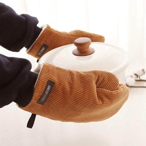 소프트 코듀로이 주방장갑(컬러5종)