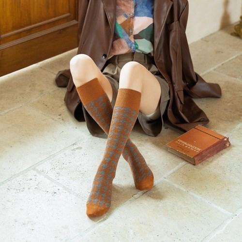 하운드체크 여성 니삭스 S292