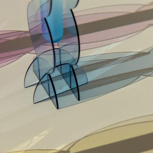 [studio riposo] 아크릴 화병 rounded vase M