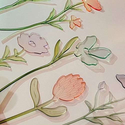 [studio riposo] 아크릴 플라워 acrylic flower L