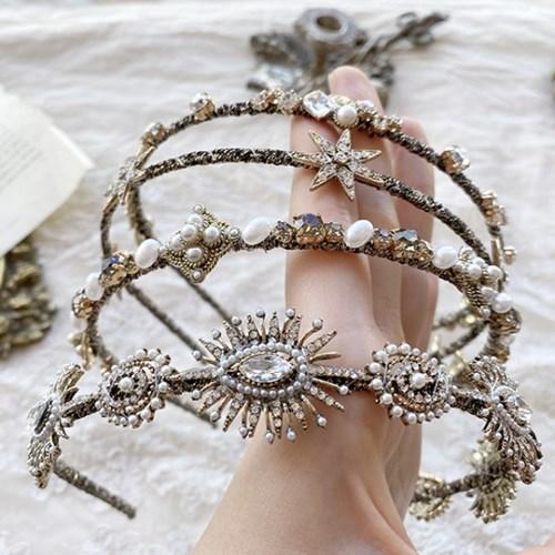 [드앙땅] 동글 띄엄 헤어밴드 백화점 퀄리티 머리띠(4종)