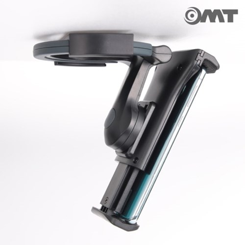 OMT 접이식 태블릿 핸드폰 거치대 휴대용핸드그립 스탠드 벽걸이가능