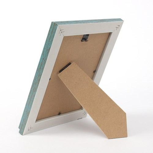 앤틱무드 사진 액자(5x7) (블루그린) 벽걸이 포토액자