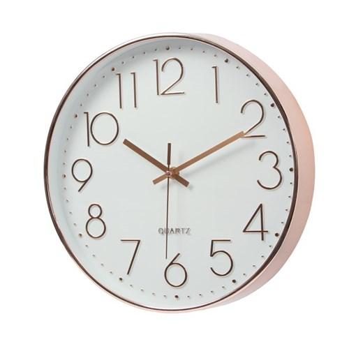 모던타임 원형 벽시계 / 거실 아날로그 벽걸이시계