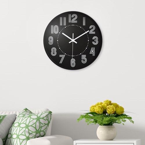 라인 원형 벽시계 / 인테리어 디자인 벽걸이시계
