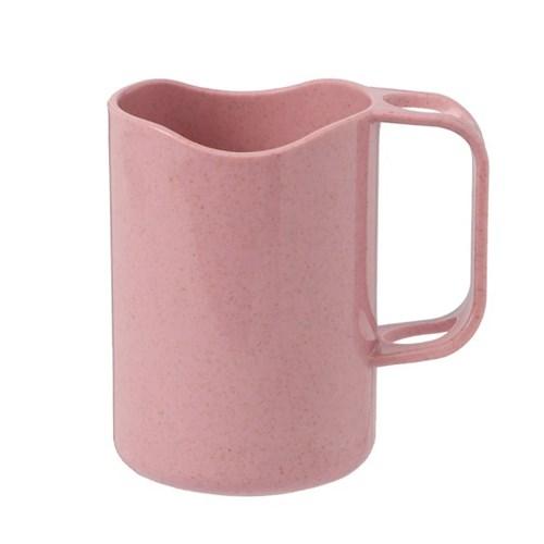 심플 칫솔꽂이 양치컵(핑크)/ 개인 칫솔컵
