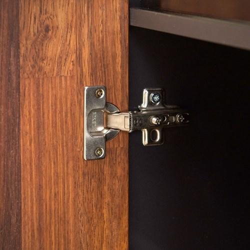 라자가구 오브 다비 멀바우 키큰 와이드수납장 RV8866