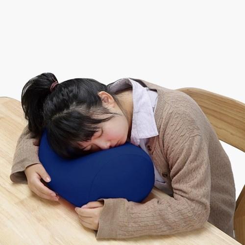 푹신구름 엎드려 낮잠베개(블루) 사무실 책상베개