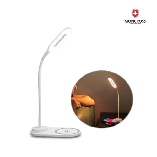 몽크로스 LED 무선 충전식 데스크 책상 공부 독서 북 스탠드