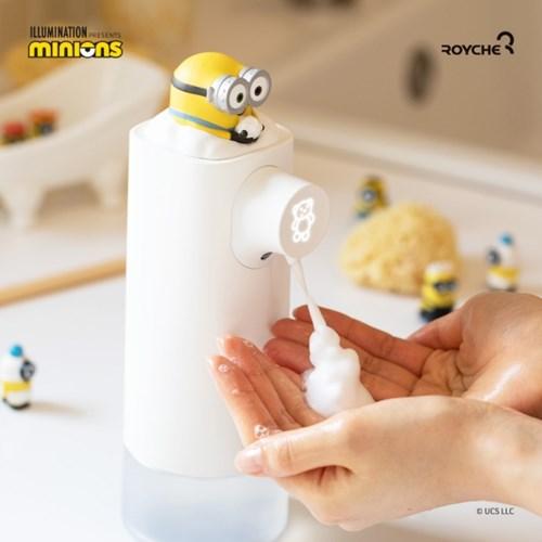 미니언즈 자동 손세정기