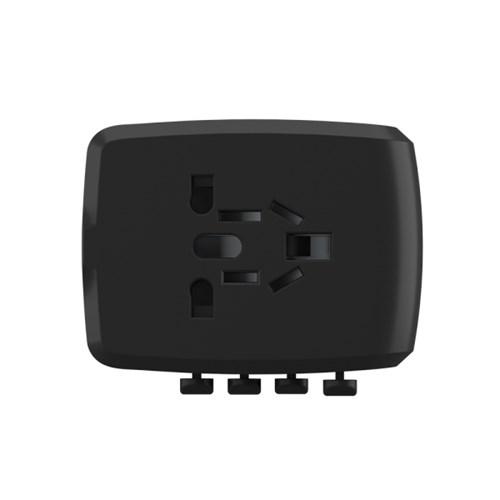 유티니 여행용 해외전용 USB C타입 PD 4포트 고속 멀티 아답터 34W