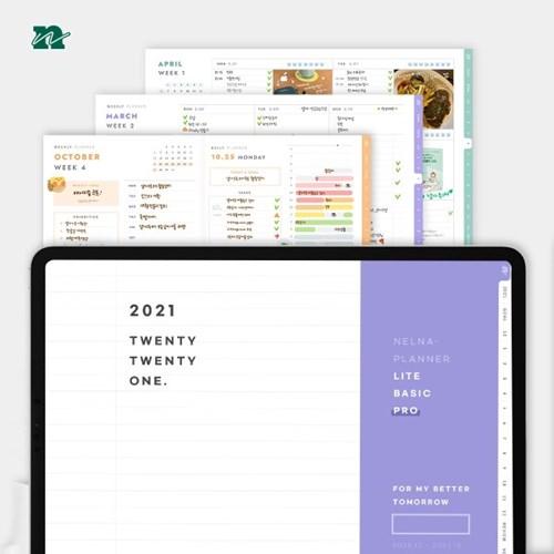 2021 낼나다이어리 (디지털 플래너 PDF)