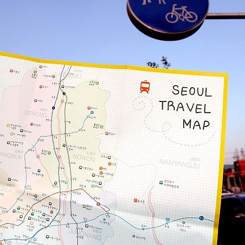 Seoul Travel Pocket Map - 더하기 서울지도