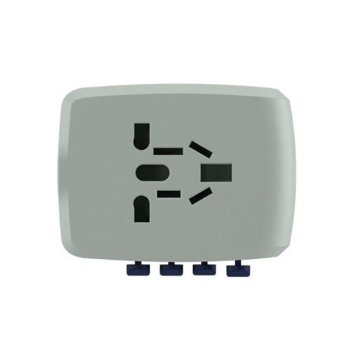 유니티 25W 여행용 해외전용 USB C타입 4포트 고속 멀티 충전기 아답