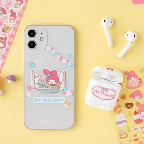 [Sanrio] 마이멜로디 종이파일&스티커팩
