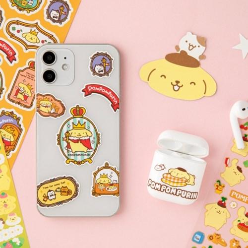 [Sanrio] 폼폼푸린 종이파일&스티커팩
