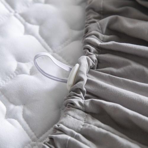 [프라임큐] 사계절 누빔 싱글 퀸 침대 시트 매트리스 커버