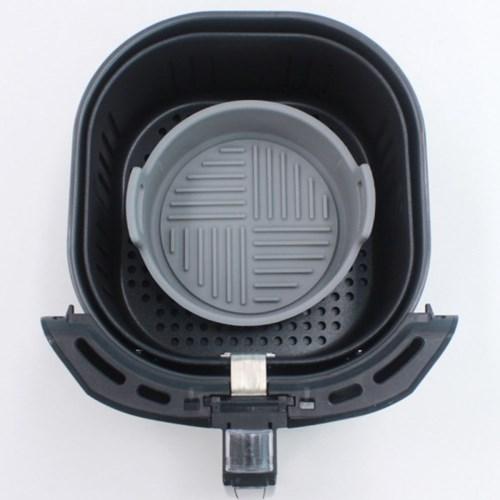 실리콘 에어프라이어 원형 용기 그릇 중 18cm 1개