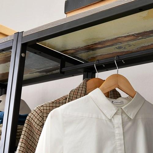 블린홈 3단서랍장 800 옷걸이 드레스룸 시스템 행거