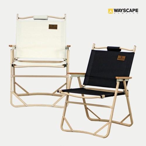 웨이스케이프 폴딩 플랫 커밋 체어 2개세트 보관가방