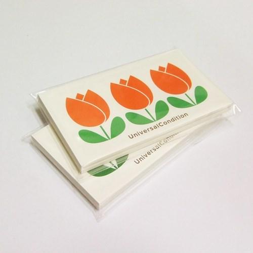 튤립 메모카드
