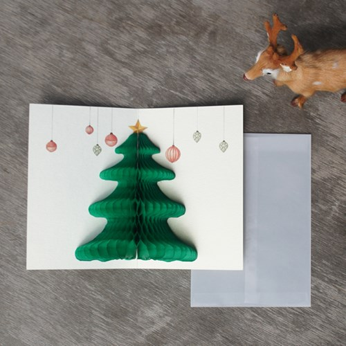 POP UP CARD_merry christmas
