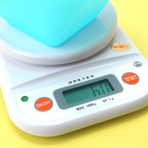 [일본 드레텍] 주방용 디지털 저울 2kg (KS-502)