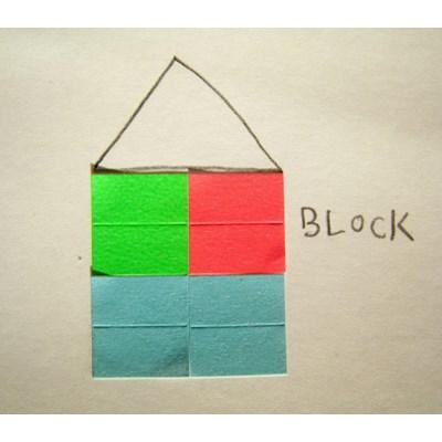 BLOCK STICKER-01 block
