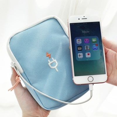 CHARGER POUCH L-여행용 충전기 파우치 라지