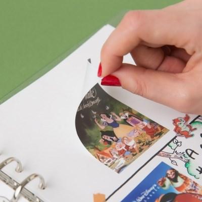 [디즈니] 빈티지 포스터 스티커 세트