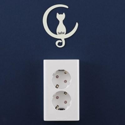 UKIUKI 고양이 형광 스티커