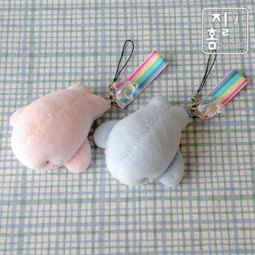 [DIY]푸~푸~ 아기고래 짝꿍 핸드폰줄 만들기