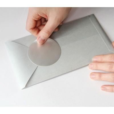 SANTA CLAUS CARD 01 silver