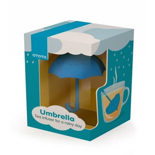 Umbrella 파란우산 실리콘 티백