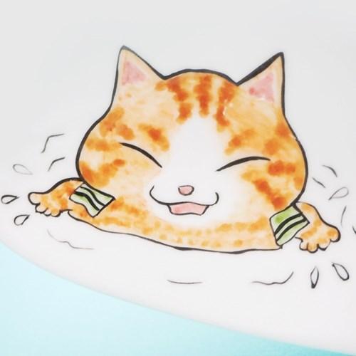 온천냥 물방울 접시 M 2
