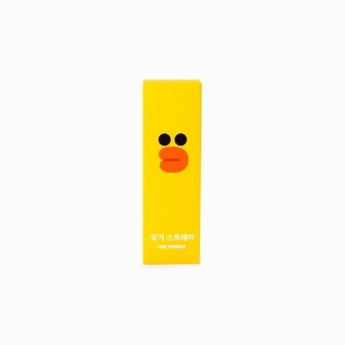 라인프렌즈 모기 기피 스프레이 (샐리) 50ml
