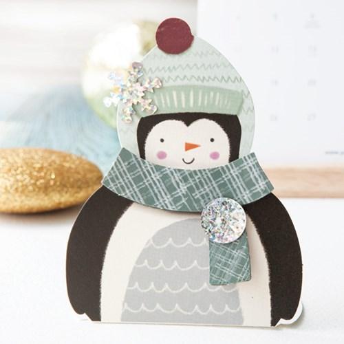 크리스마스 모양 미니카드 세트 12종 set (FS512)