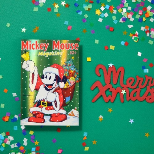 [Disney]Christmas_Hologram Post Card